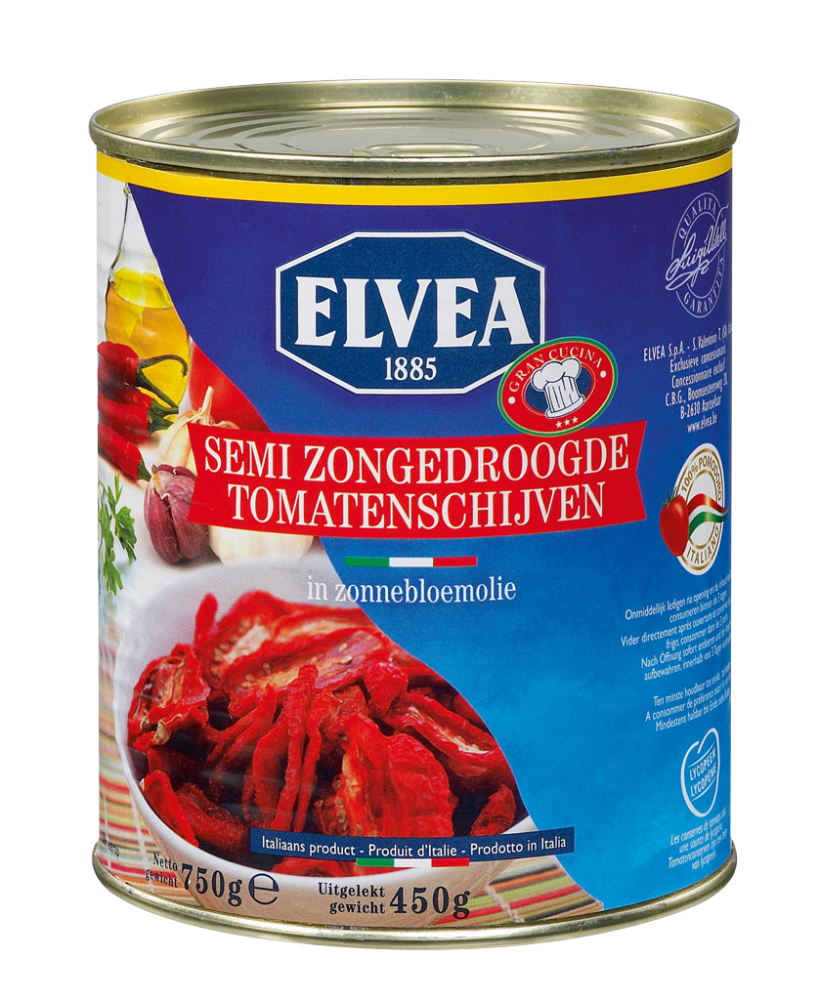 NIEUW - Elvea semi zongedroogde tomaten