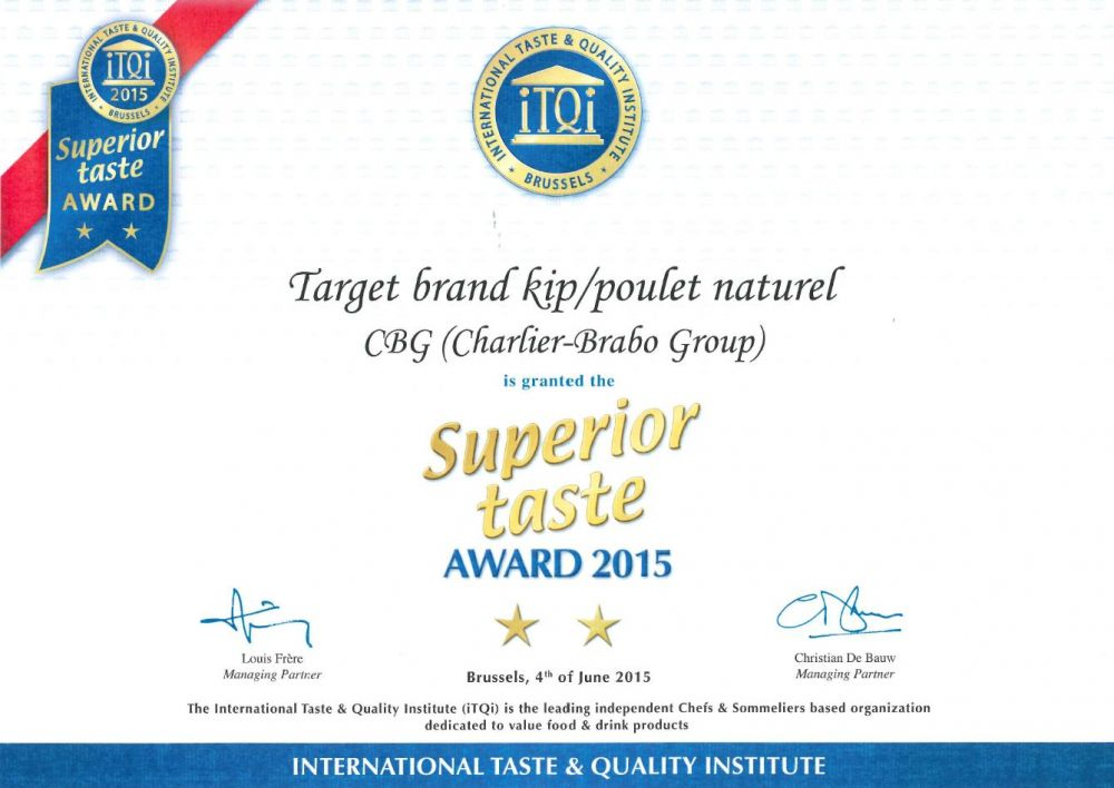 Target Chicken wins iTQi Award