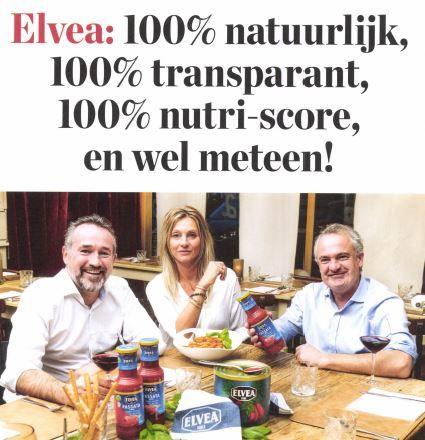 Elvea 100% natuurlijk én 100% transparant