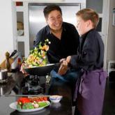Cuisiner au wok avec Go-Tan