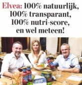 Elvea 100% natural and 100% transparent