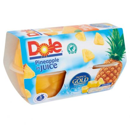 Dole Fruit Cups 4x113g